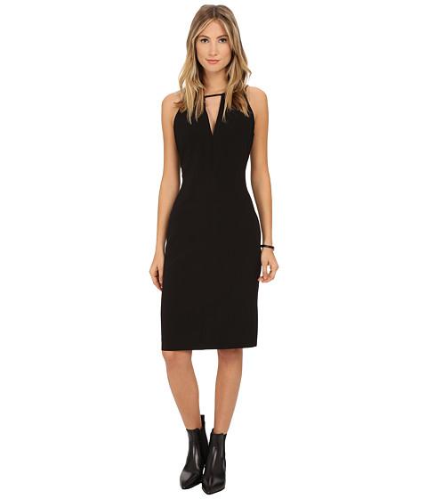 BB Dakota - Laine Heavy Crepe Strappy Dress (Black) Women's Dress