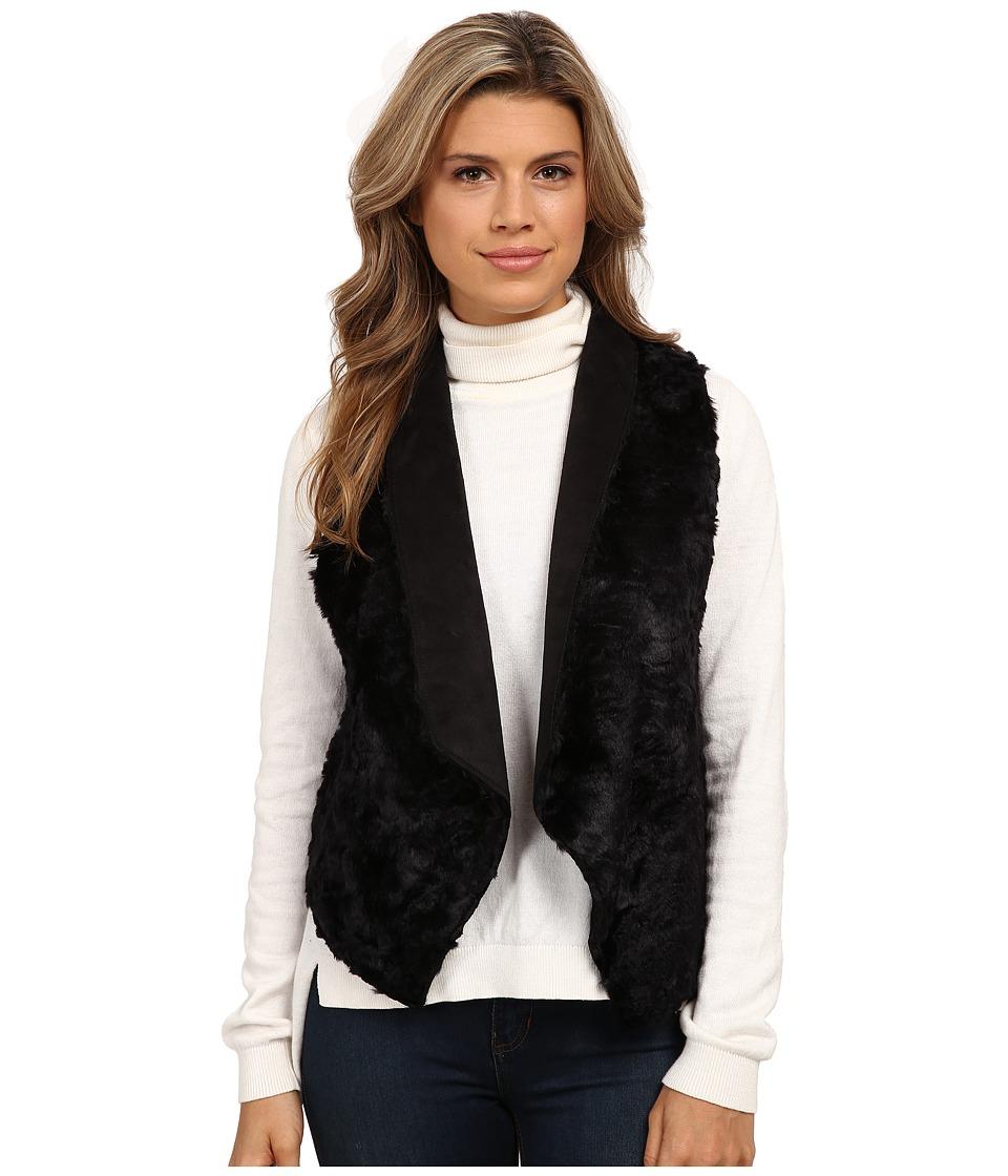 Tart - Sheri Faux Fur Vest (Black) Women's Vest
