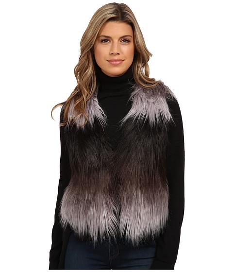 Tart - Fyne Faux Fur Vest (White/Black Ombre) Women's Vest