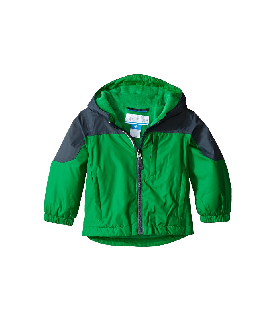 Columbia Kids - Ethan Pond Jacket (Toddler) (Fuse Green) Boy's Coat