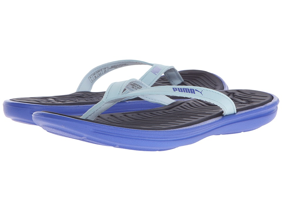 PUMA - Lux Flip Pro (Dazzling Blue/Peacoat/Cool Blue) Women's Sandals