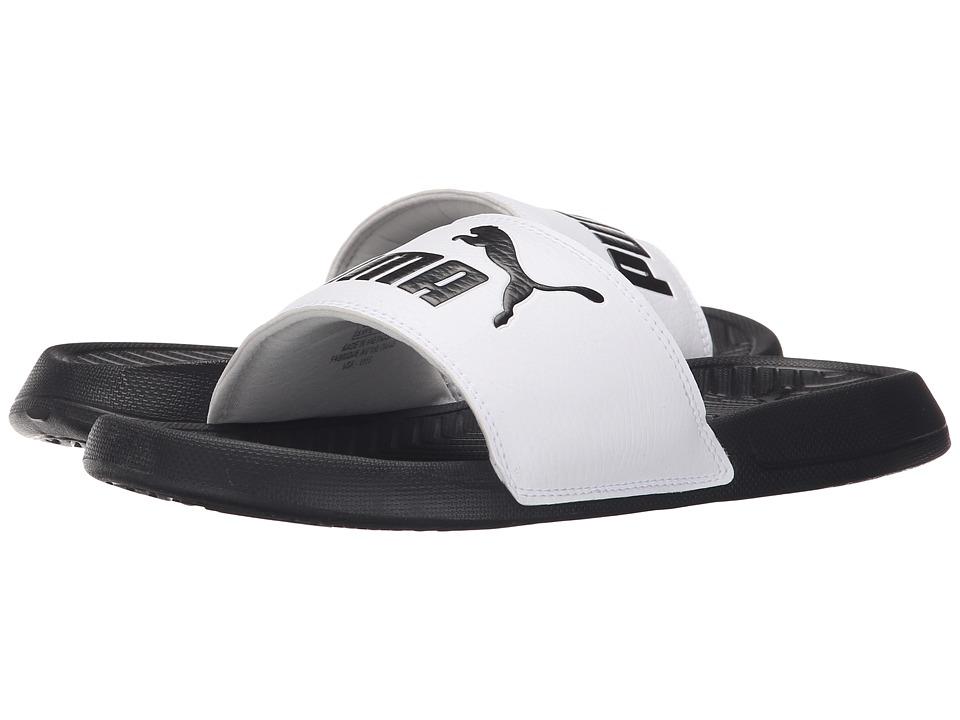 PUMA - Popcat (Black/White) Women's Sandals
