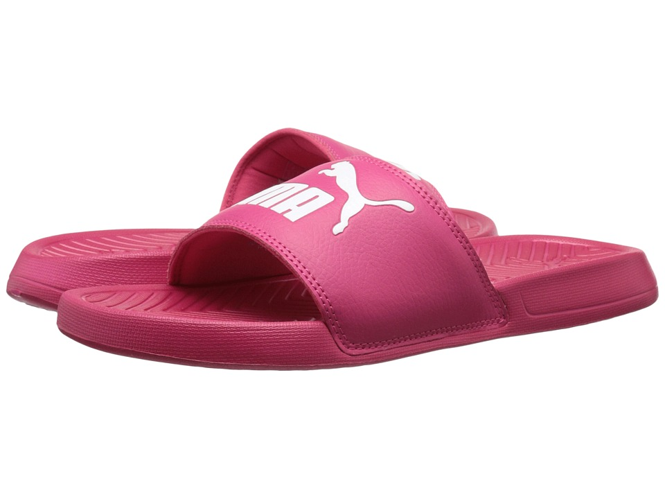 PUMA - Popcat (Rose Red/White) Women's Sandals