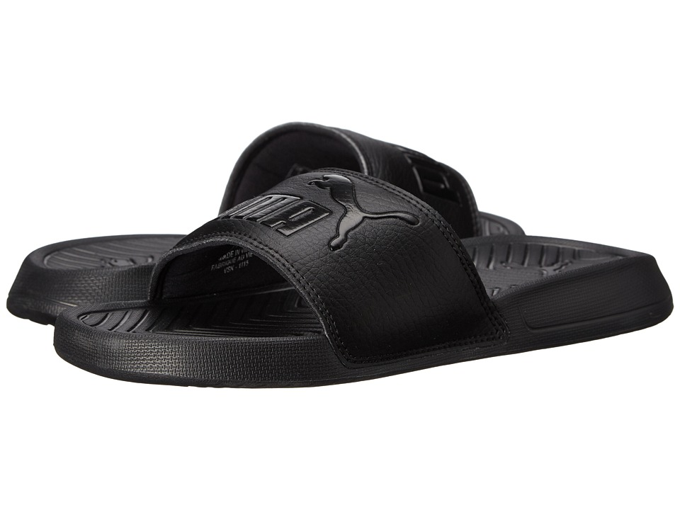 PUMA - Popcat (Black/Black) Women's Sandals