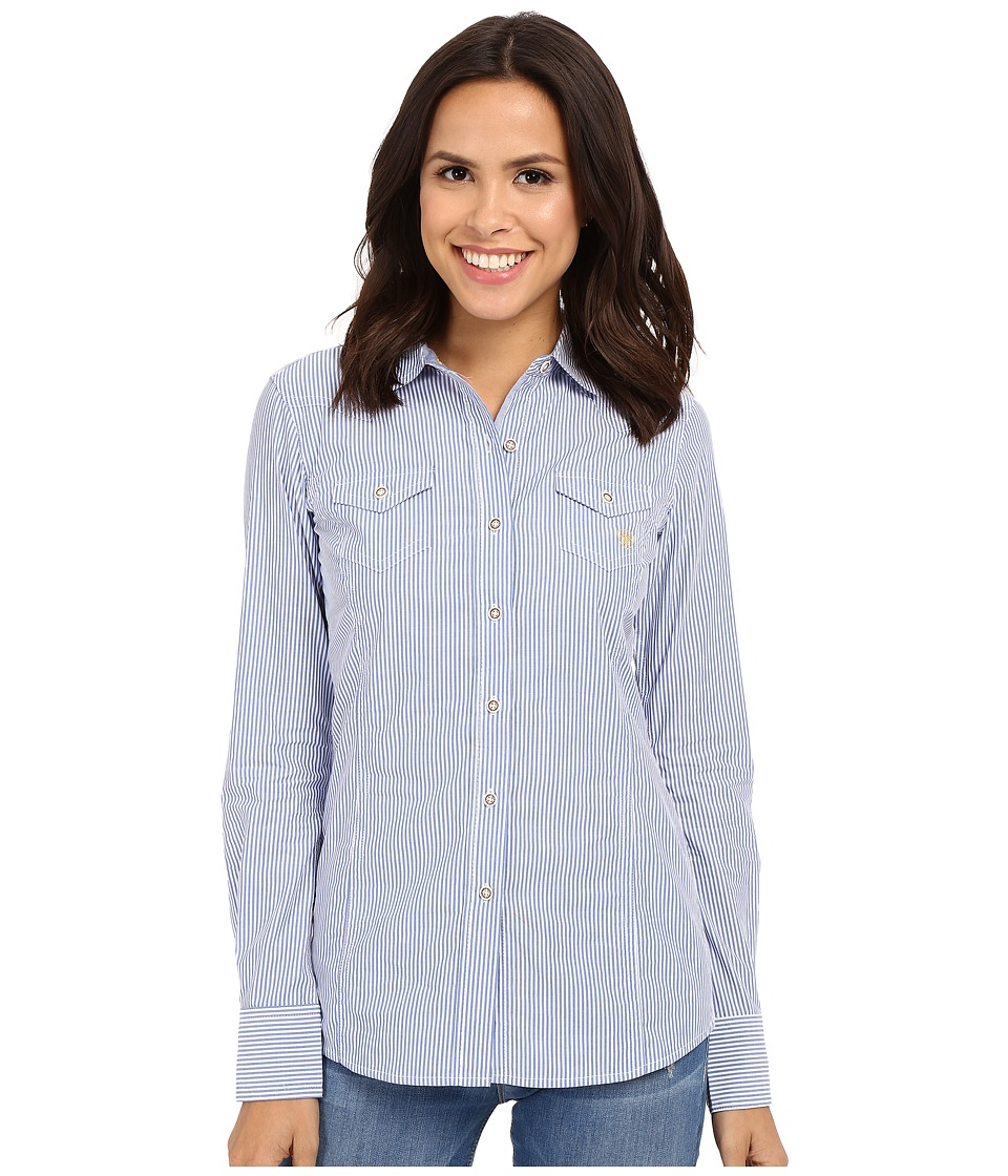 Ariat - Keen Shirt (Blue Stripe) Women's Clothing