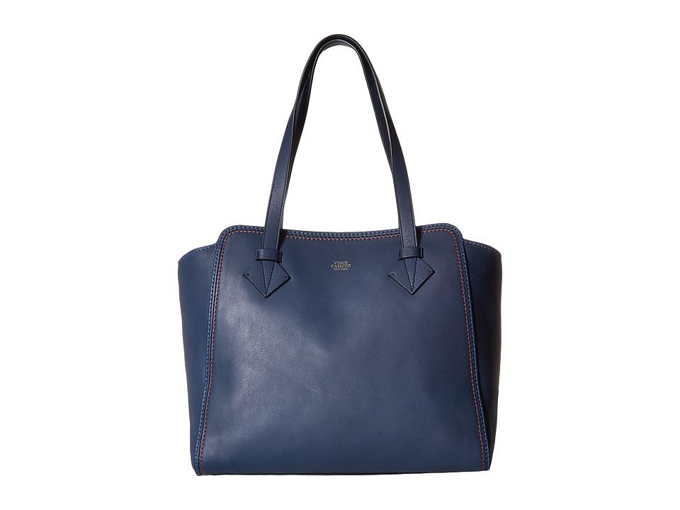 Vince Camuto - Petra Tote (Dress Blue) Tote Handbags