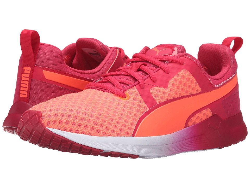 PUMA - Pulse XT v2 Core (Fluo Peach/Rose Red/White) Women