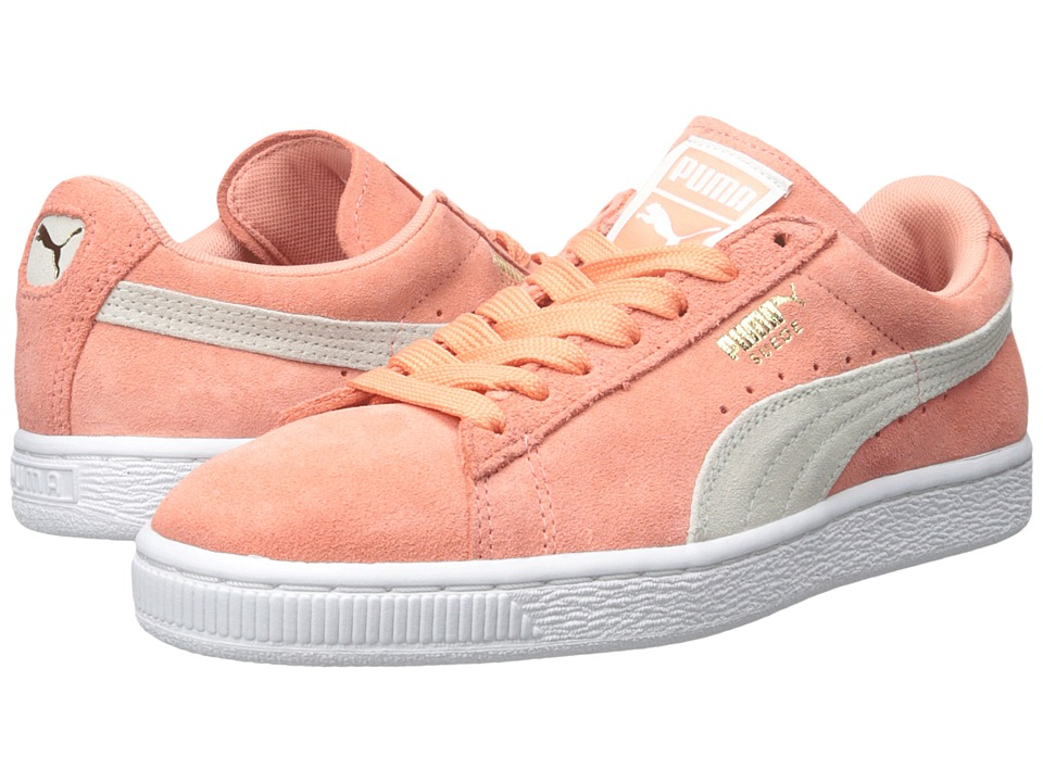 PUMA - Suede Classic Wn's (Desert Flower/White) Women's Shoes