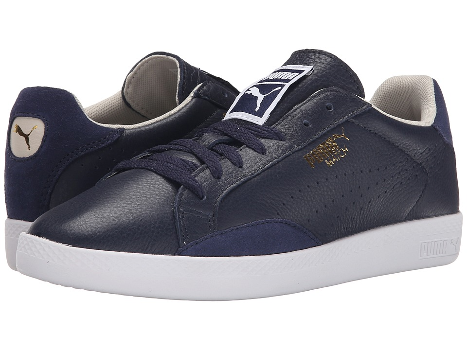 PUMA - Match Lo Basic Sports (Peacoat/Oatmeal) Women's Shoes