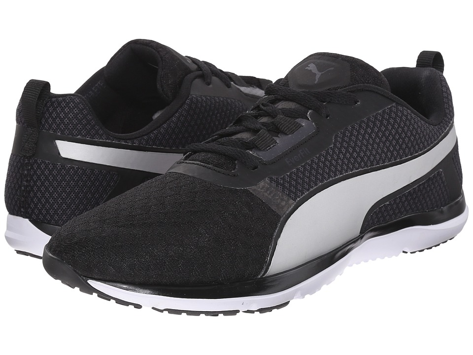 PUMA - Pulse Flex XT Core (Black/White/Puma Silver) Women's Shoes