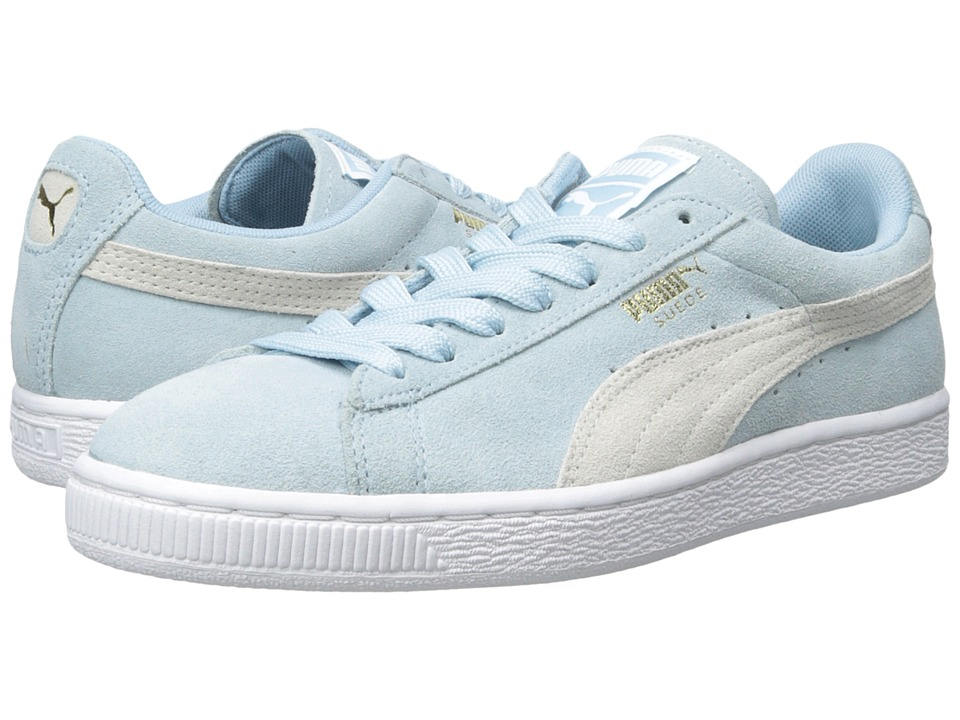 PUMA - Suede Classic Wn's (Cool Blue/White) Women's Shoes