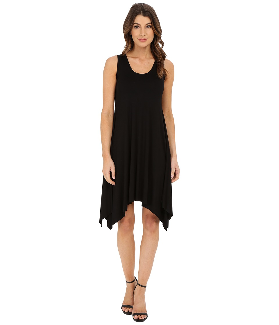 Karen Kane - Handkerchief Dress (Black) Women's Dress