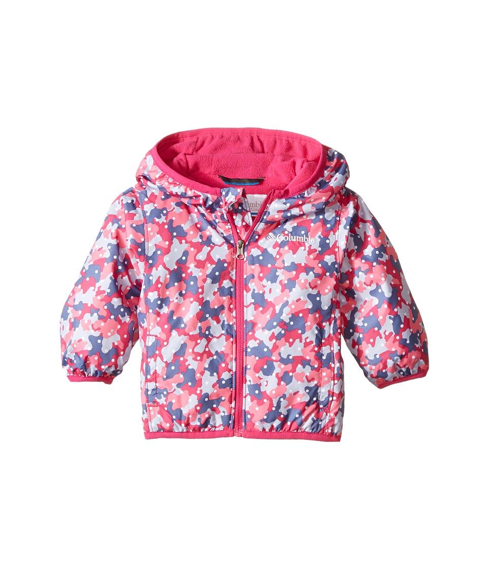 Columbia Kids - Mini Pixel Grabber II Wind Jacket (Infant/Toddler) (Haute Pink Camo) Girl's Coat