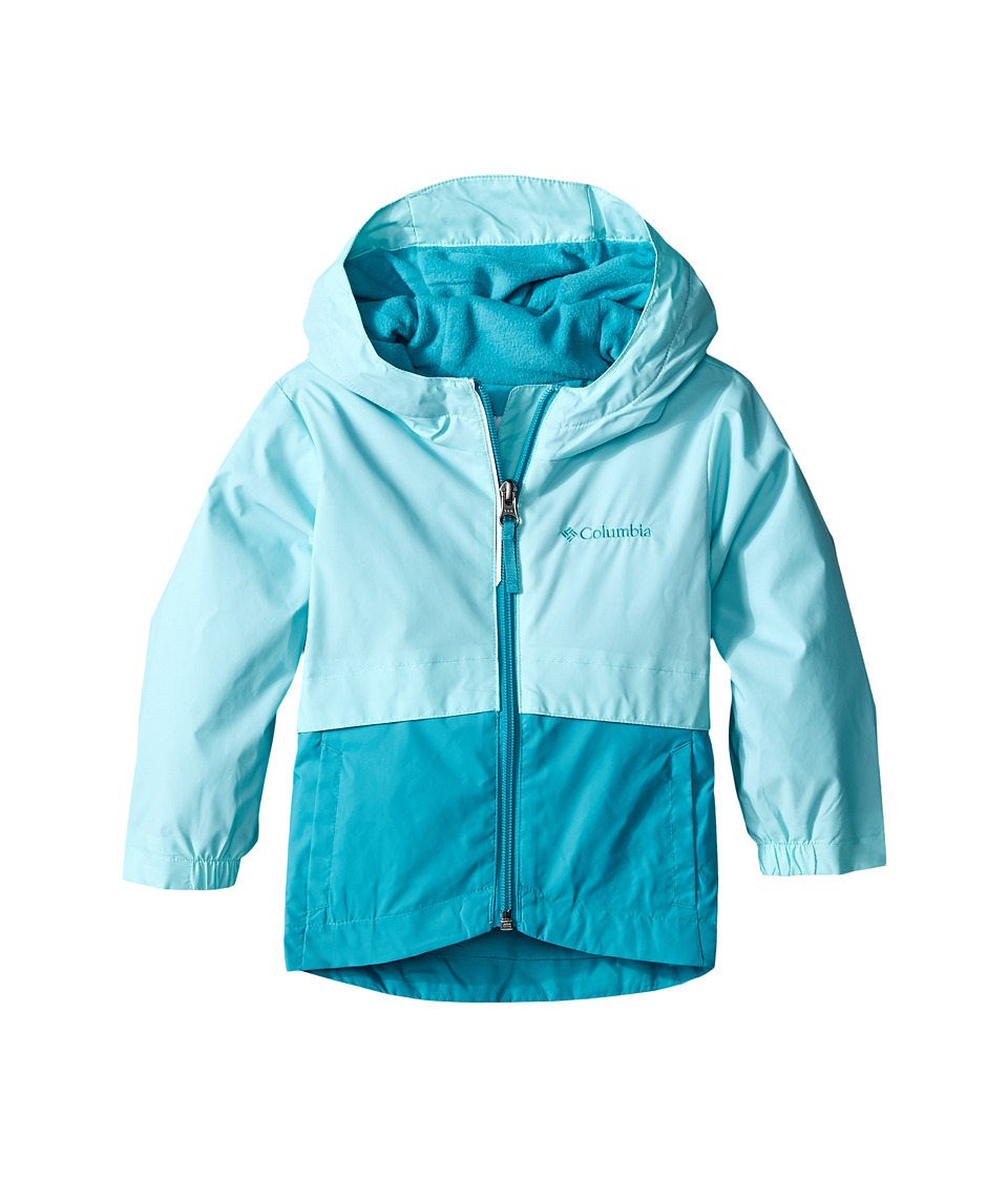 Columbia Kids - Rain-Zilla Jacket (Toddler) (Ocean Water) Girl's Jacket