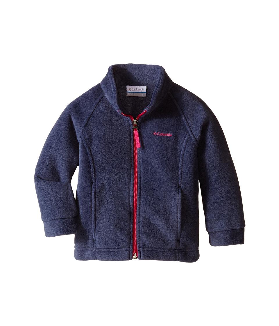 Columbia Kids - Benton Springs Fleece (Toddler) (Nocturnal/Haute Pink) Girl's Fleece