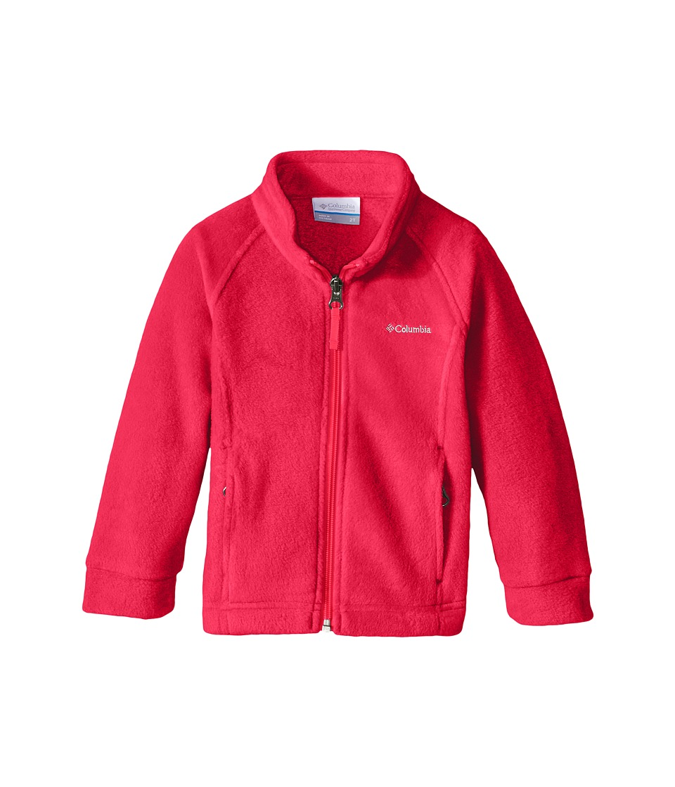 Columbia Kids - Benton Springs Fleece (Toddler) (Geranium Pink) Girl's Fleece