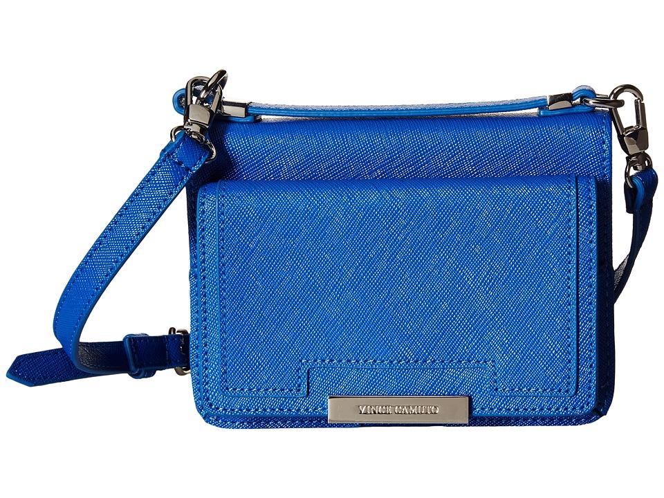 Vince Camuto - Mila Crossbody (Cerulean Blue) Cross Body Handbags