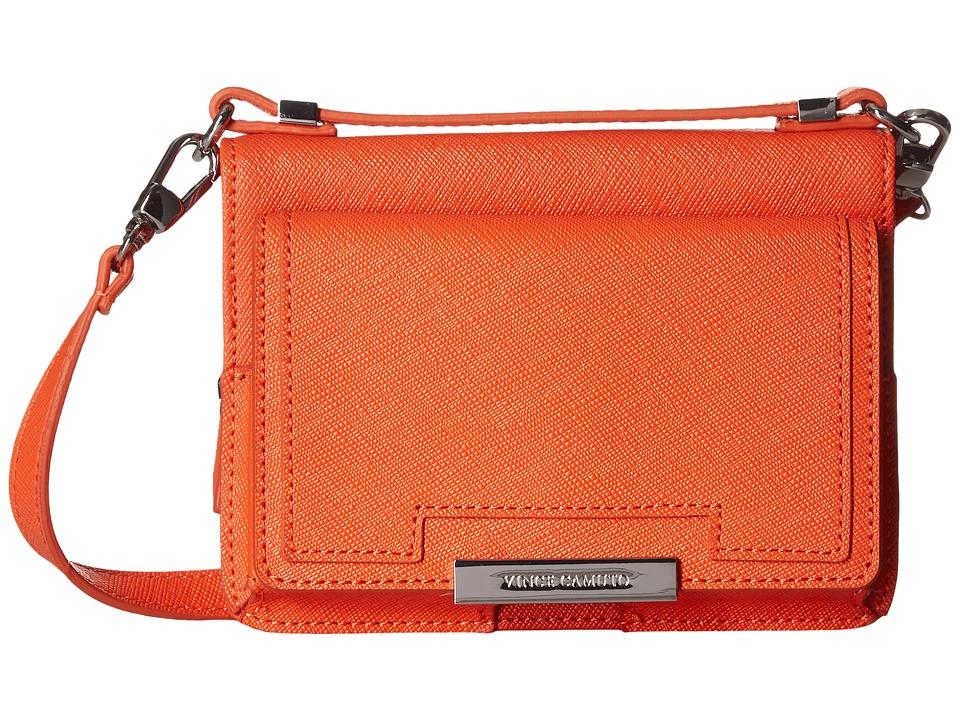 Vince Camuto - Mila Crossbody (Mandarin Orange) Cross Body Handbags
