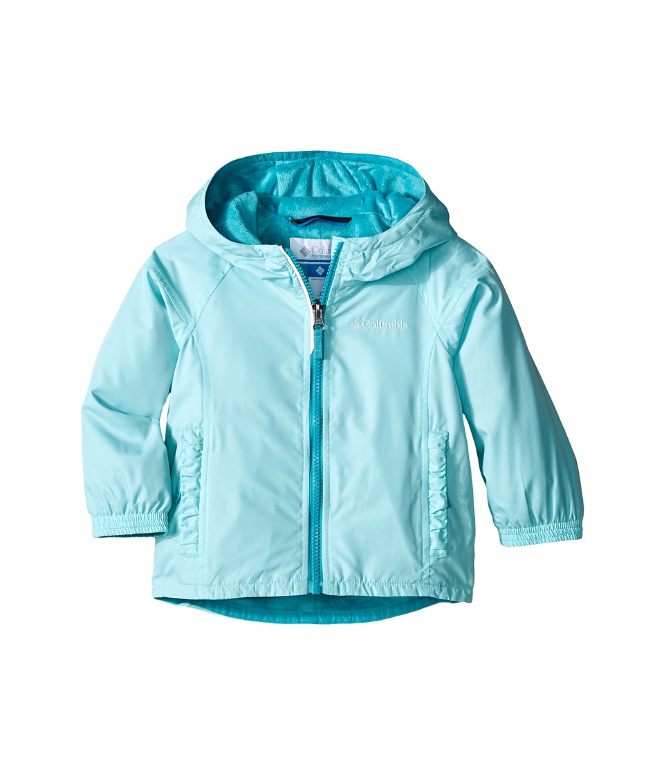 Columbia Kids - Ethan Pond Jacket (Toddler) (Ocean Water) Girl's Coat