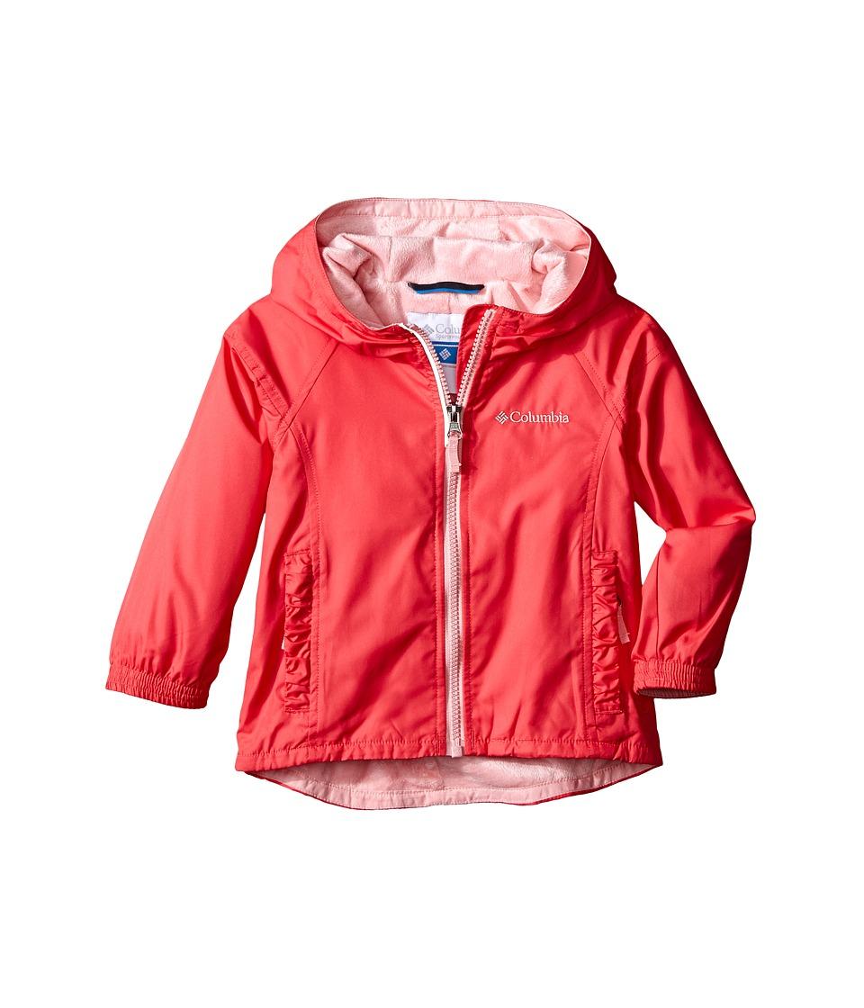 Columbia Kids - Ethan Pond Jacket (Toddler) (Bright Geranium) Girl's Coat