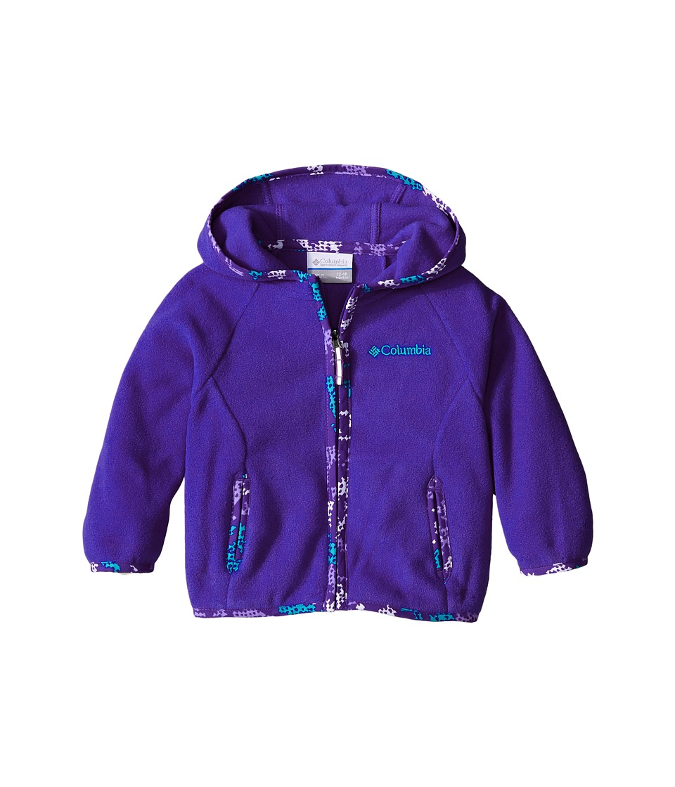 Columbia Kids - Fast Trek Hoodie (Infant) (Light Grape) Girl's Sweatshirt