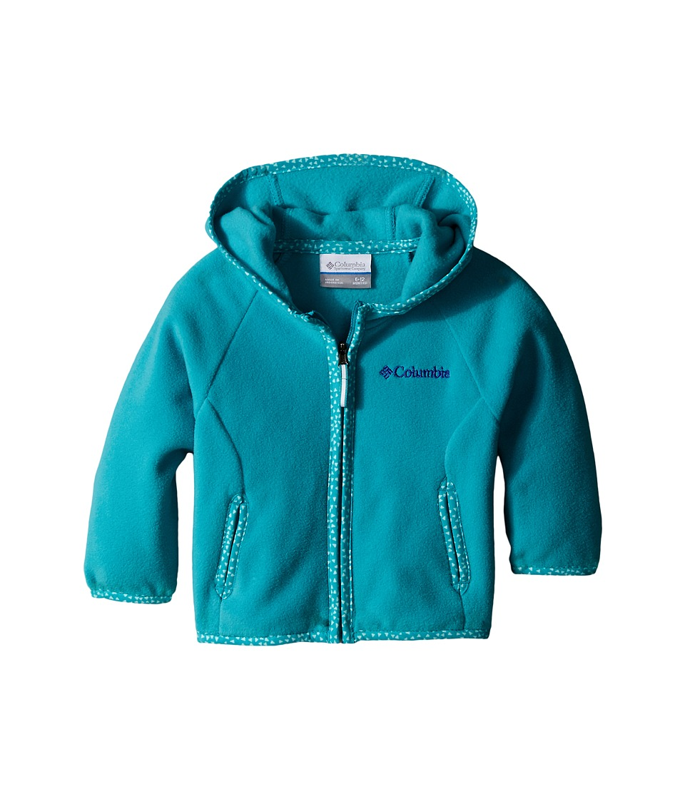Columbia Kids - Fast Trek Hoodie (Infant) (Miami) Girl's Sweatshirt