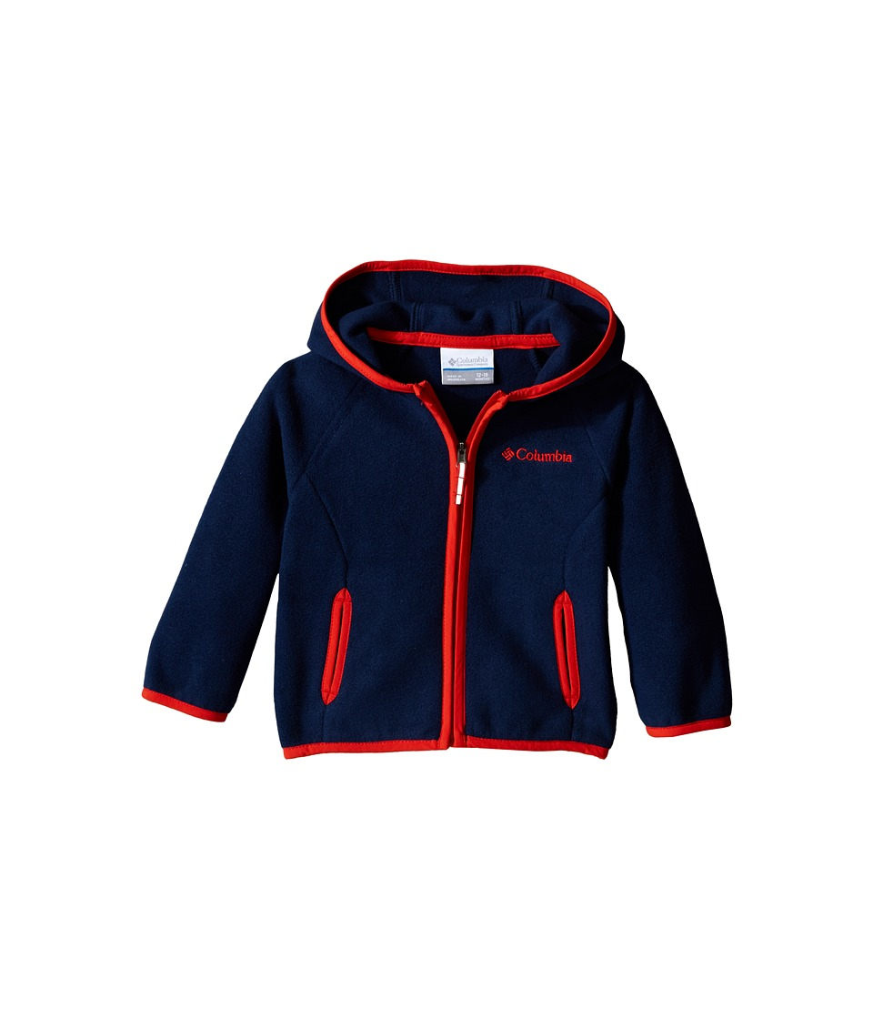 Columbia Kids - Fast Trek Hoodie (Infant) (Collegiate Navy) Boy's Sweatshirt