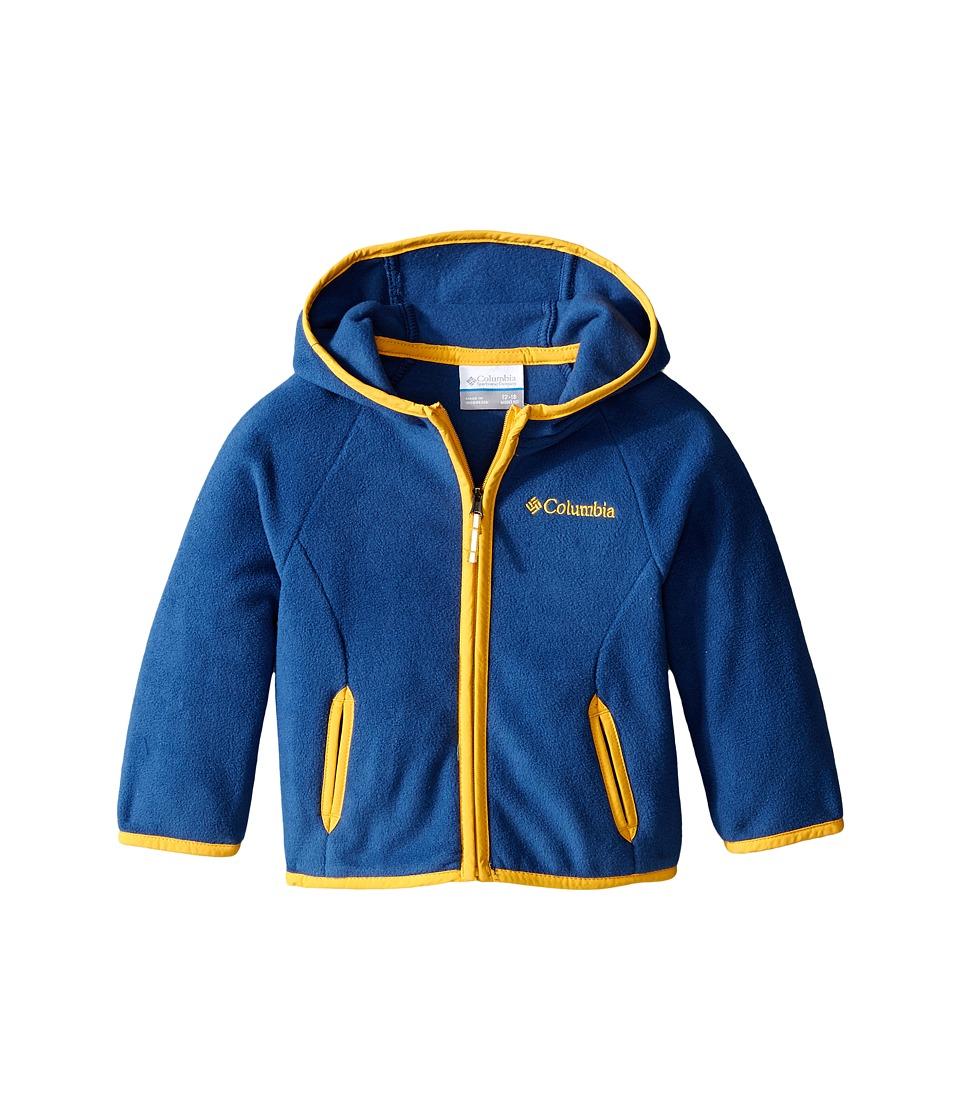 Columbia Kids - Fast Trek Hoodie (Infant) (Night Tide/Stinger) Boy's Sweatshirt