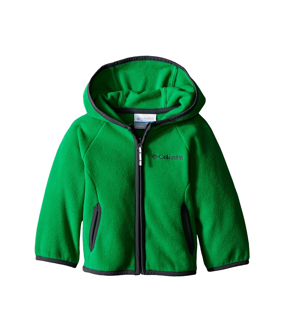 Columbia Kids - Fast Trek Hoodie (Infant) (Fuse Green/Grill) Boy's Sweatshirt