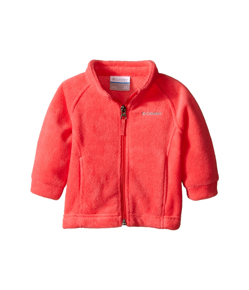 Columbia Kids - Benton Springs Fleece (Infant) (Geranium Pink) Girl's Fleece