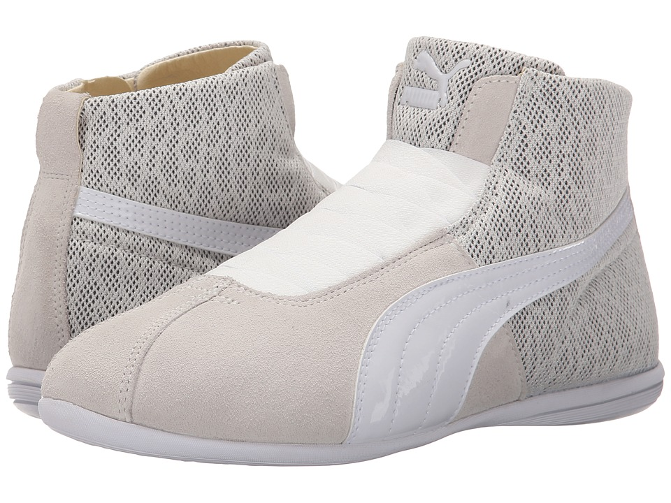 PUMA Eskiva Mid Textured (Whisper White) Women