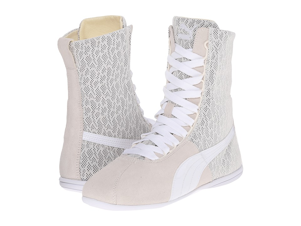 PUMA Eskiva Hi Textured (Whisper White) Women