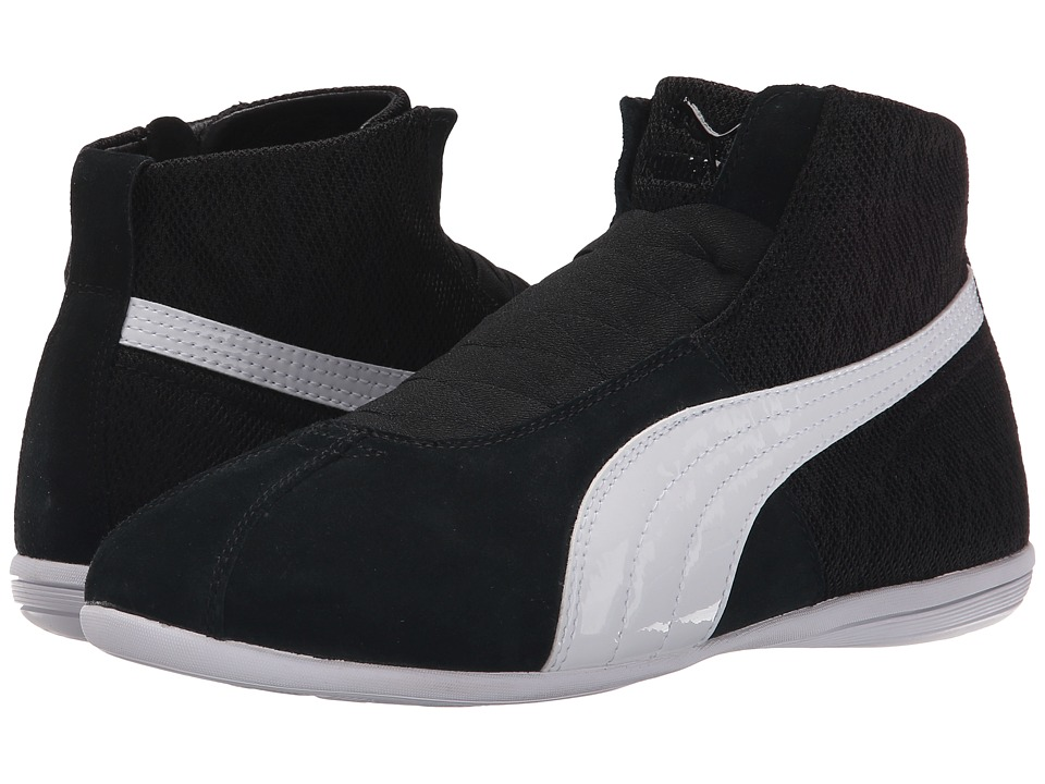 PUMA - Eskiva Mid Textured (Black) Women's Shoes