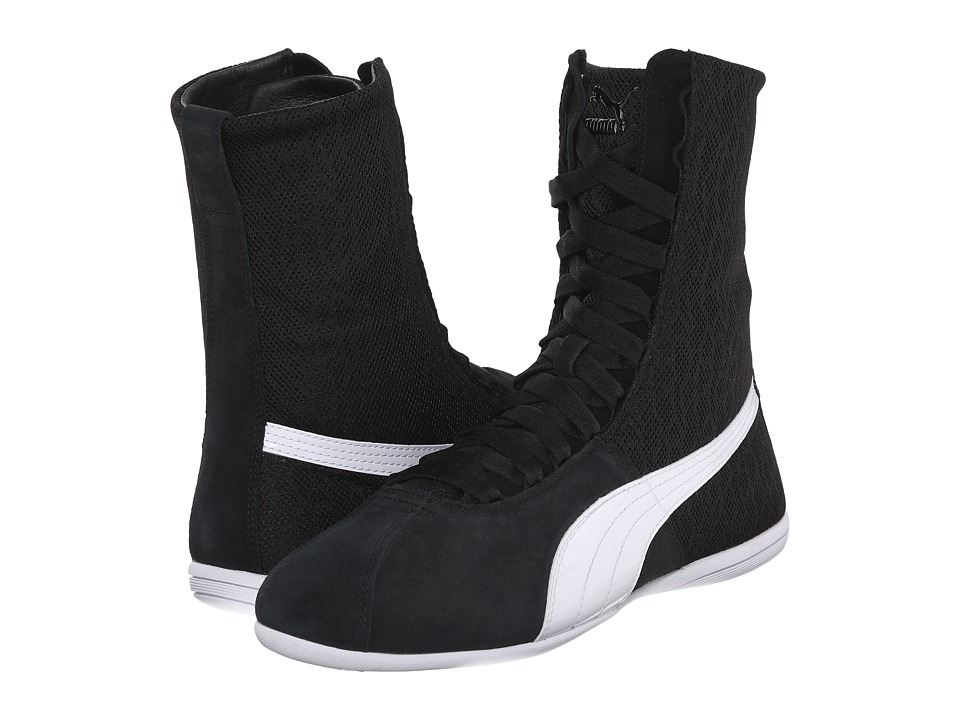 PUMA - Eskiva Hi Textured (Black) Women's Shoes