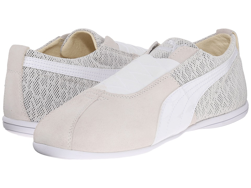 PUMA Eskiva Low Textured (Whisper White) Women