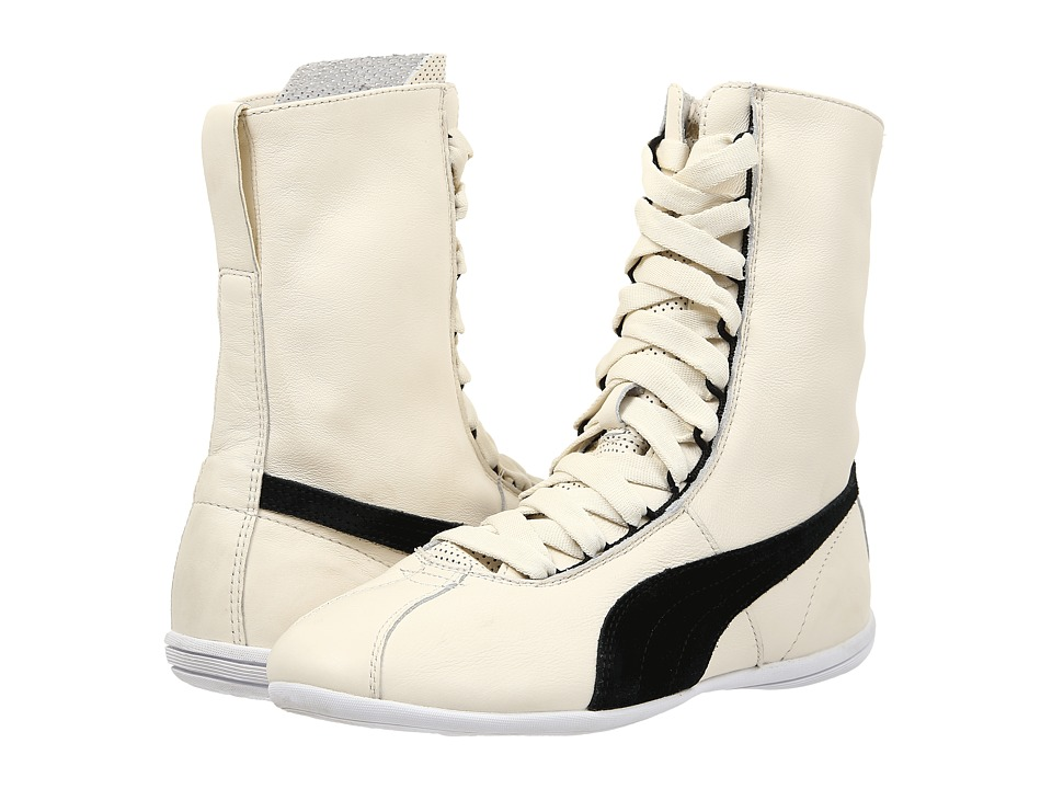 PUMA - Eskiva Hi (Whisper White/Black) Women