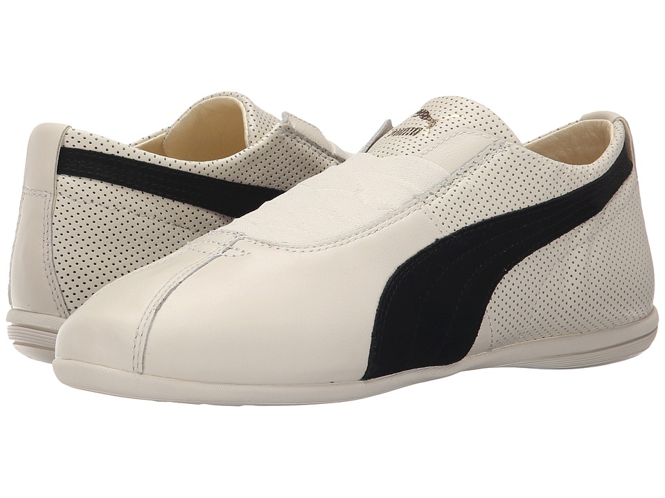 PUMA - Eskiva Low (Whisper White/Black) Women's Shoes