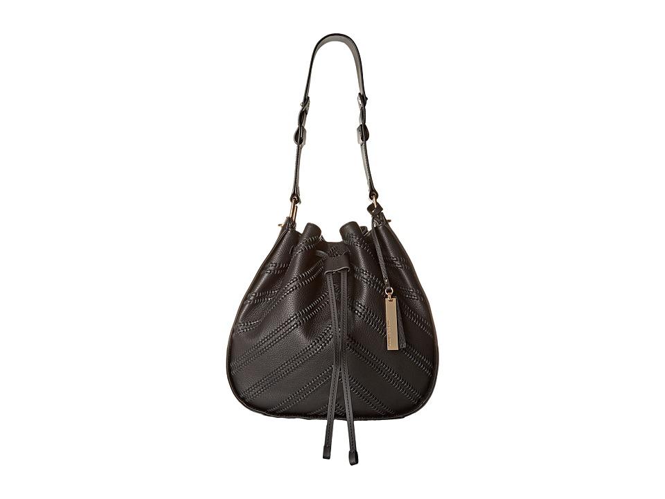 Vince Camuto - Rayli Drawstring (Black) Shoulder Handbags