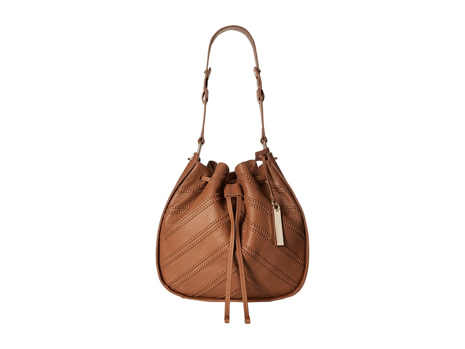 Vince Camuto - Rayli Drawstring (Hazelnut Brown) Shoulder Handbags