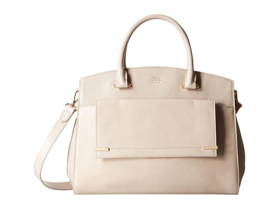 Vince Camuto - Karma Satchel (Parchment) Satchel Handbags