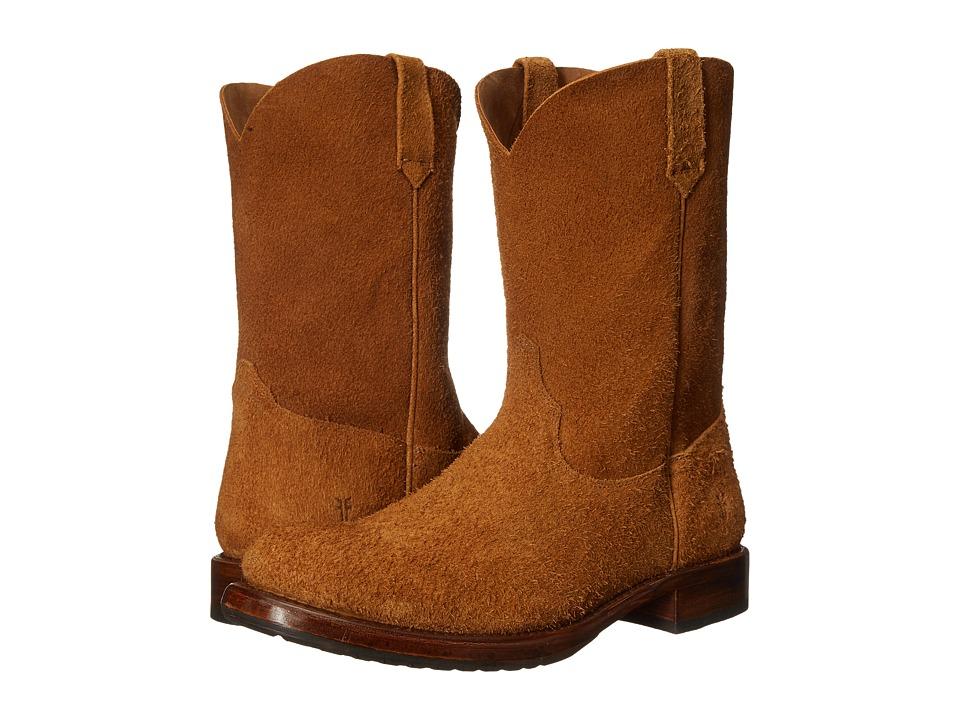 Frye - Duke Roper (Tan Oiled Suede) Cowboy Boots