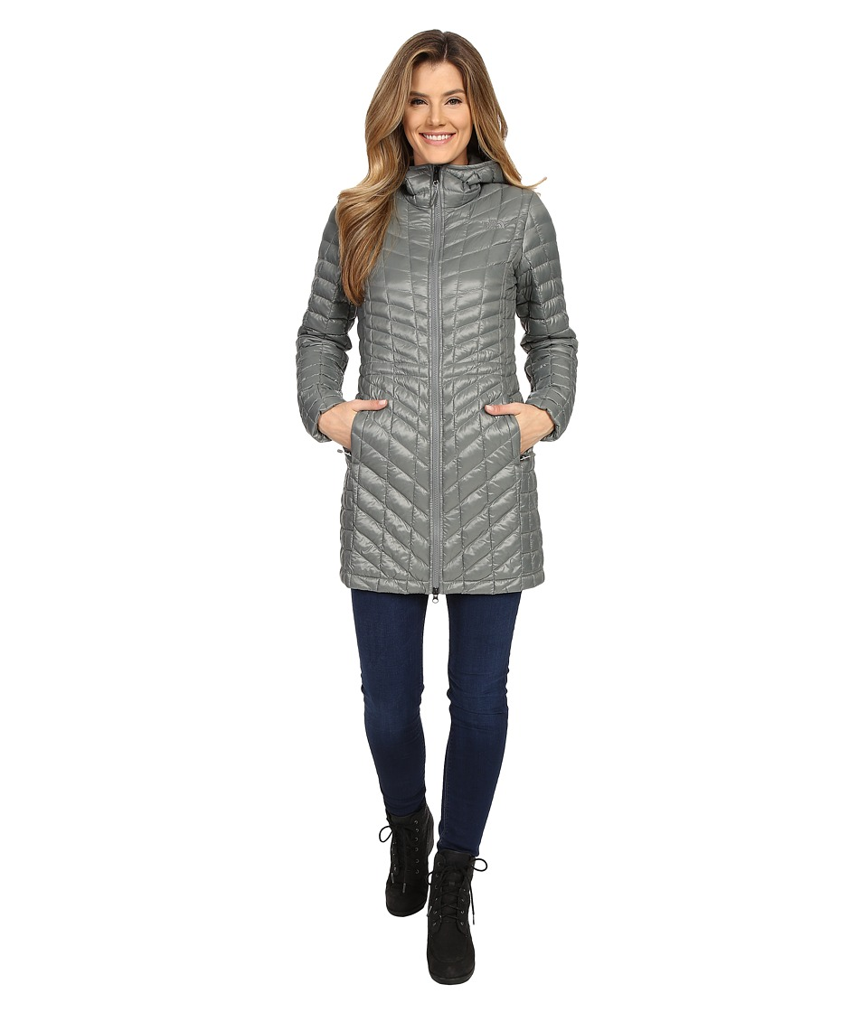 The North Face - ThermoBall Hooded Parka (Sedona Sage Grey) Women's Coat