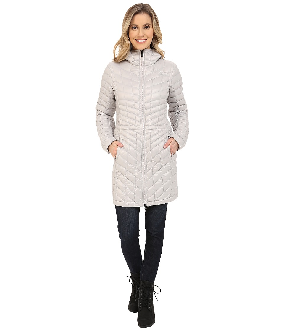 The North Face - ThermoBall Hooded Parka (Ashes of Rose Grey) Women's Coat