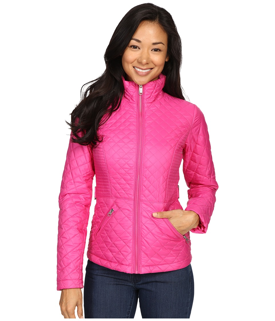 The North Face - Insulated Luna Jacket (Raspberry Rose) Women's Coat
