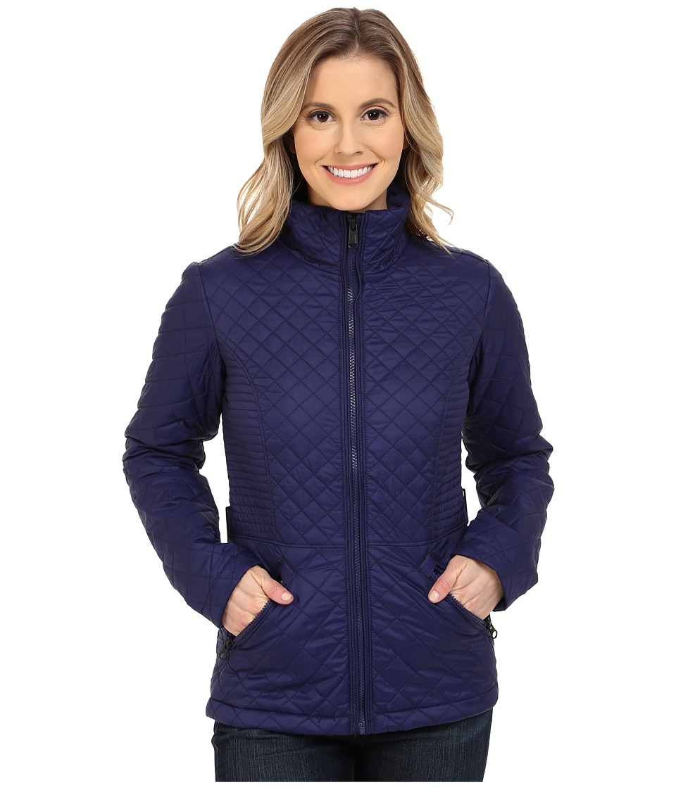 The North Face - Insulated Luna Jacket (Patriot Blue) Women's Coat