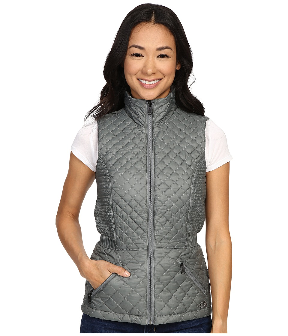 The North Face - Insulated Luna Vest (Sedona Sage Grey) Women's Vest
