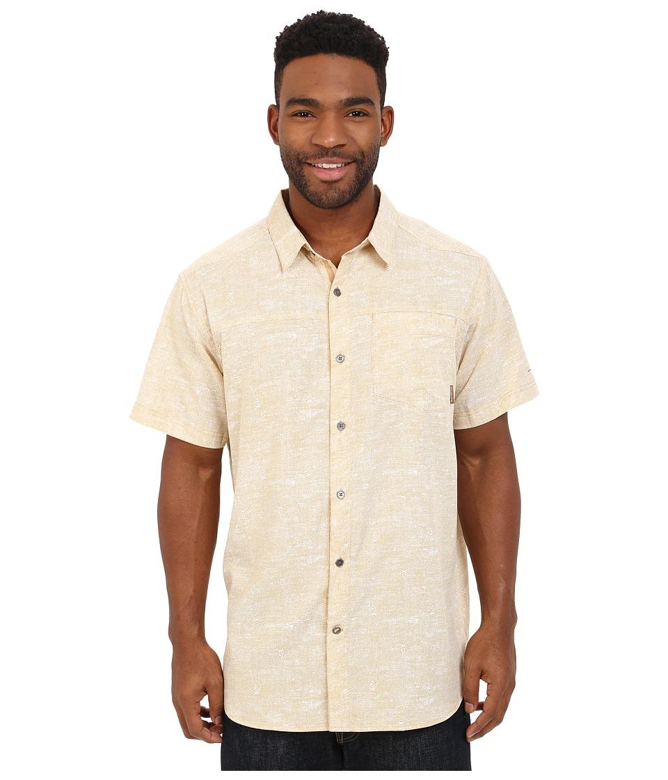 Columbia - Pilsner Peak Print Short Sleeve Shirt (Lion Campfire) Men's Short Sleeve Button Up