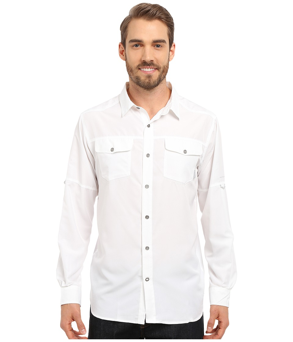 Columbia - Pilsner Peak Long Sleeve Shirt (White Heather) Men's Long Sleeve Button Up