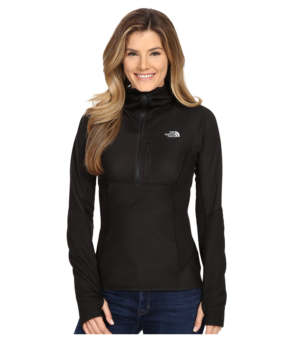 The North Face - FuseForm Dolomiti 1/4 Zip Hoodie (TNF Black Fuse) Women's Sweatshirt