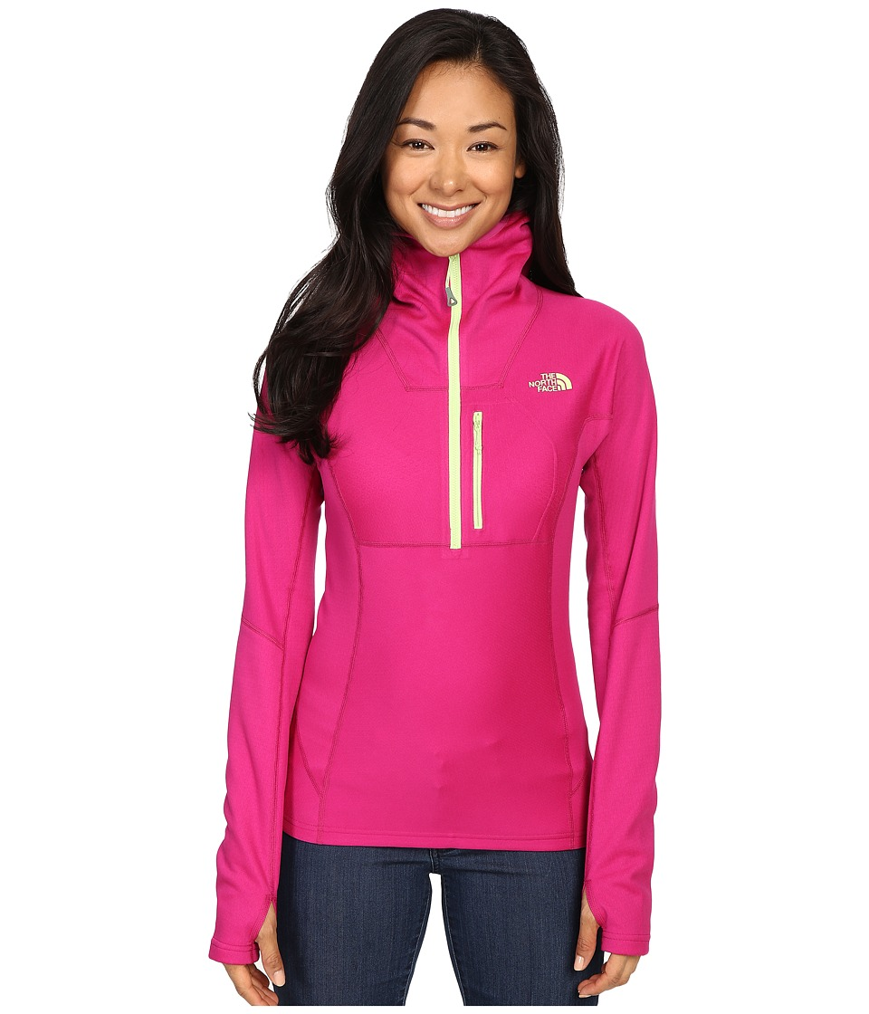 The North Face FuseForm Dolomiti 1/4 Zip Hoodie (Fuchsia Pink Fuse) Women